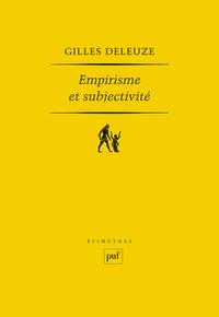 Deedr.fr Empirisme et subjectivité - Essai sur la nature humaine selon Hume Image