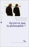 Gilles Deleuze et Félix Guattari - Qu'est-ce que la philosophie ?.