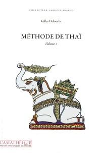 Gilles Delouche - Méthode de thaï - Volume 2.