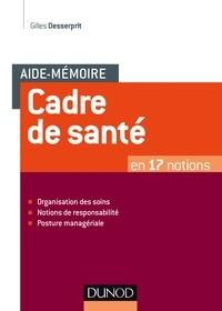Cadre de santé - Gilles Desserprit pdf epub