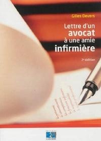 Gilles Devers - Lettre d'un avocat à une amie infirmière.