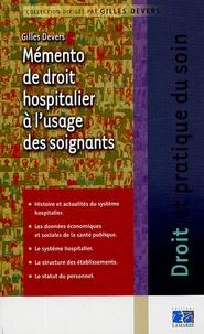 Mémento de droit hospitalier à lusage des soignants.pdf