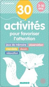 Histoiresdenlire.be 30 activités pour favoriser l'attention - Jeux de mémoire, masssage, mandala, dessin, relaxation Image