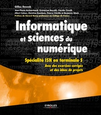 Gilles Dowek - Informatique et sciences du numérique - Spécialité ISN en terminale S.