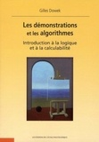 Gilles Dowek - Les démonstrations et les algorithmes - Introduction à la logique et à la calculabilité.