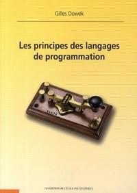 Gilles Dowek - Les principes de langages de programmation.