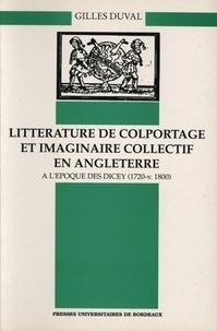 Deedr.fr Littérature de colportage et imaginaire collectif en Angleterre à l'époque des Dicey (1720-v.1800) Image