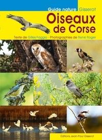 Gilles Faggio et René Roger - Oiseaux de Corse.