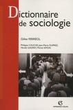 Gilles Ferréol - Dictionnaire de sociologie.