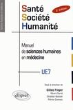 Gilles Freyer - Santé, société, humanité, manuel de sciences humaines en médecine - PACES.