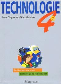 Gilles Gaigher et Jean Cliquet - .