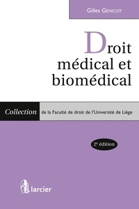 Droit médical et biomédical - Gilles Genicot pdf epub