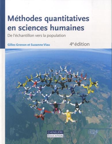 Gilles Grenon - Méthodes quantitatives en sciences humaines - Volume 1, De l'échantillon vers la population.