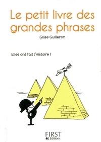 Gilles Guilleron - Le petit livre des grandes phrases.