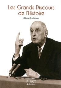 Gilles Guilleron - Les grands discours de l'histoire.