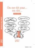 Gilles Guilleron - On ne dit pas... On dit....