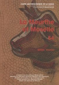 Gilles Hamm - La Meurthe-et-Moselle - 54.