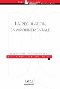 Gilles J Martin et Béatrice Parance - La régulation environnementale.