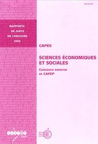 Gilles Jacoud - CAPES Sciences Economiques et Sociales - Concours externe et CAFEP.