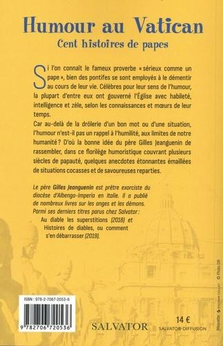 Humour au Vatican. Cent histoires de papes