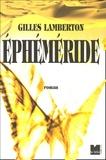 Gilles Lamberton - Ephéméride.