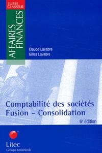 Gilles Lavabre et Claude Lavabre - Comptabilite des sociétés - Fusion-consolidation.