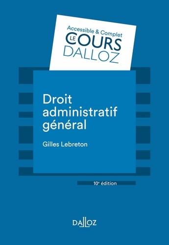 Droit administratif général 10e édition
