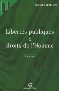 Gilles Lebreton - Libertés publiques et droits de l'Homme.