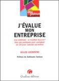 Gilles Lecointre - J'évalue mon entreprise - Une méthode : le modèle Valentin. 1 Cédérom