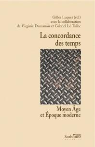 Deedr.fr La concordance des temps - Moyen Age et Epoque moderne Image