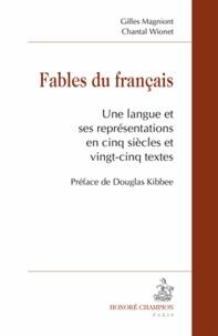 Era-circus.be Fables du français - Une langue et ses représentations en cinq siècles et vingt-cinq textes Image