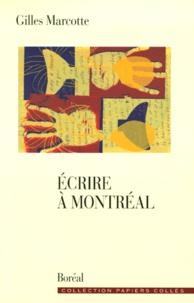 Gilles Marcotte - .