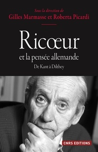 Gilles Marmasse et Roberta Picardi - Ricoeur et la pensée allemande.