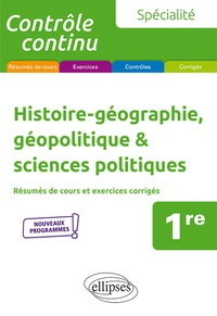 Gilles Martinez - Histoire-géographie, géopolitique & sciences politiques 1re spécialité.