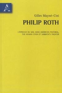 Gilles Mayne-Cini - L'épreuve du mal dans American Pastoral - The Human Stain et Sabbath's Theater.