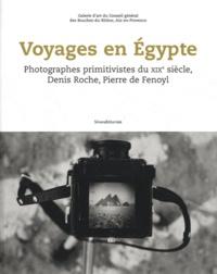 Gilles Mora et Bernard Millet - Voyages en Egypte - Photographies primitivistes du XIXe siècle, Denis Roche, Pierre de Fenoyl.