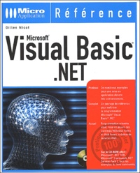 Visual Basic .NET. Avec CD-ROM - Gilles Nicot | Showmesound.org