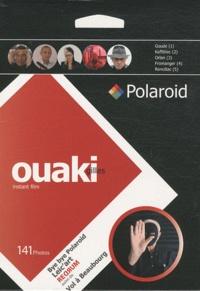 Gilles Ouaki - Gilles Ouaki instant film coffret 2 volumes - Bye bye Polaroid et Leic'art ; Redrum suivi de Vol à Beaubourg.