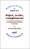 Gilles Philippe - .