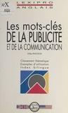 Gilles Pinchon - Les mots-clés de la publicité et de la communication.