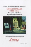 """Gilles Quincy et Michel Agnoux - Leonard Leymarie (1880-1914) - Un enfant de Seilhac """"fusillé pour l'exemple""""."""