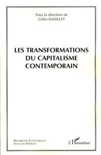 Gilles Rasselet - Les transformations du capitalisme contemporain.