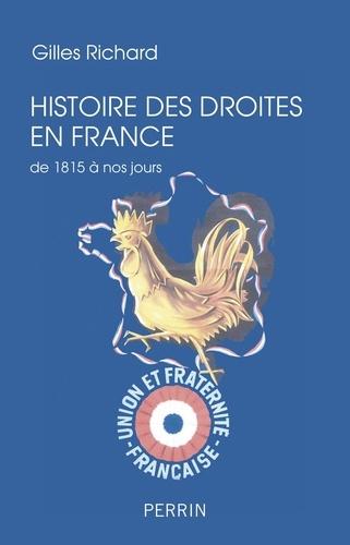 Histoire des droites en France de 1815 à nos jours - Format ePub - 9782262070748 - 15,99 €