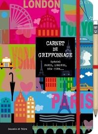 Deedr.fr Carnet de griffonnage - Spécial Paris, Londres, New York... Image