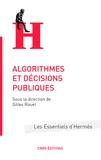 Gilles Rouet - Algorithmes et décisions publiques.
