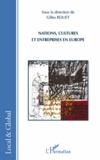 Gilles Rouet - Nations, cultures et entreprises en Europe.
