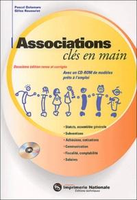 Checkpointfrance.fr Associations clés en main. 2ème édition, Avec CD-ROM Image