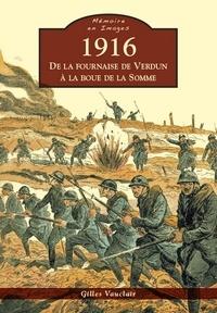 Gilles Vauclair - 1916, de la fournaise de Verdun à la boue de la Somme.