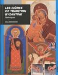 Gilles Weissmann - Les icônes de tradition Byzantine - Techniques.