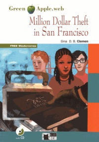 Gina D. B. Clemen - Million Dollar Theft in San Francisco. 1 CD audio
